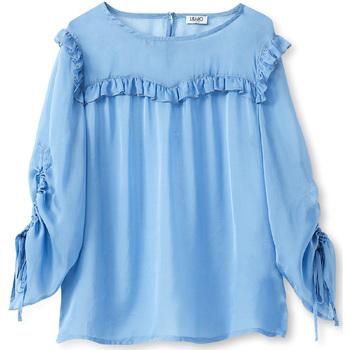 Îmbracaminte Femei Topuri și Bluze Liu Jo W19292T5339 Albastru