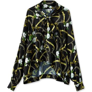 Îmbracaminte Femei Cămăși și Bluze Liu Jo W19499T5335 Negru