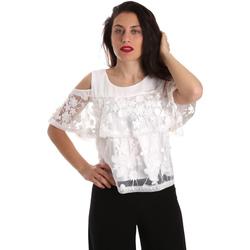 Îmbracaminte Femei Topuri și Bluze Fracomina FR19SP605 Alb