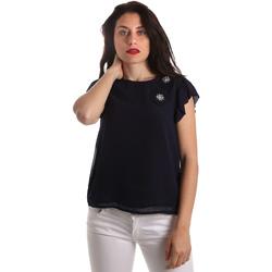 Îmbracaminte Femei Topuri și Bluze Fracomina FR19SP567 Albastru