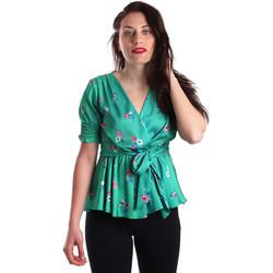 Îmbracaminte Femei Topuri și Bluze Fracomina FR19SP474 Verde
