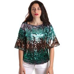 Îmbracaminte Femei Topuri și Bluze Fracomina FR19SP525 Verde