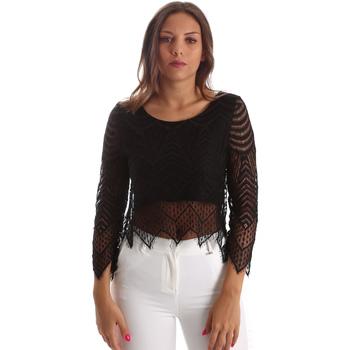 Îmbracaminte Femei Topuri și Bluze Fracomina FR19SP099 Negru