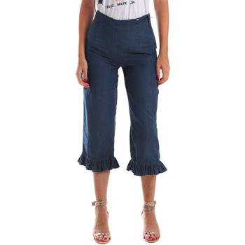 Îmbracaminte Femei Jeans  3/4 & 7/8 Fracomina FR19SM502 Albastru