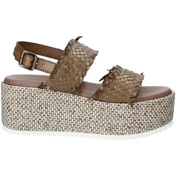 Pantofi Femei Espadrile Pregunta IBH6649 Maro