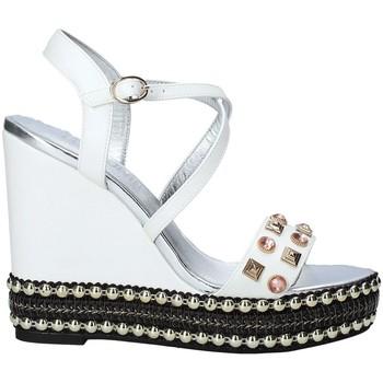 Pantofi Femei Sandale  Fracomina FC19SM2037 Alb