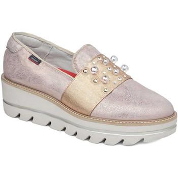 Pantofi Femei Mocasini CallagHan 14821 Roz