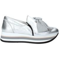 Pantofi Femei Pantofi Slip on Triver Flight 232-09 Argint