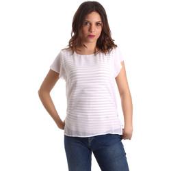 Îmbracaminte Femei Topuri și Bluze Nero Giardini P962470D Alb