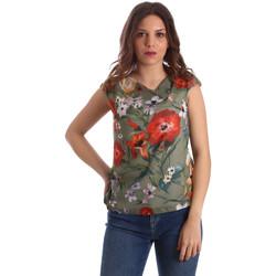 Îmbracaminte Femei Topuri și Bluze NeroGiardini P962570D Verde