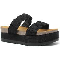 Pantofi Femei Papuci de vară Exé Shoes I468Q6923001 Negru