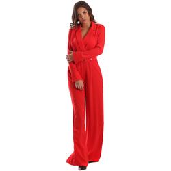 Îmbracaminte Femei Jumpsuit și Salopete Byblos Blu 2WD0010 TE0012 Roșu