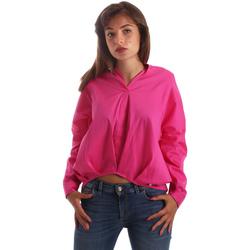 Îmbracaminte Femei Cămăși și Bluze Byblos Blu 2WR0004 TE0014 Roz