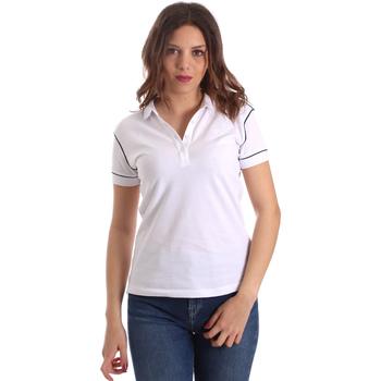 Îmbracaminte Femei Tricou Polo mânecă scurtă La Martina NWP002 PK001 Alb
