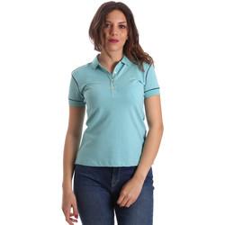 Îmbracaminte Femei Tricou Polo mânecă scurtă La Martina NWP002 PK001 Albastru