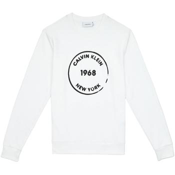 Îmbracaminte Bărbați Hanorace  Calvin Klein Jeans K10K104548 Alb
