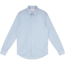 Îmbracaminte Bărbați Cămăsi mânecă lungă Calvin Klein Jeans J30J313171 Albastru