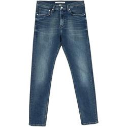 Îmbracaminte Bărbați Jeans drepti Calvin Klein Jeans J30J312353 Albastru