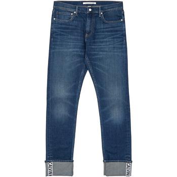 Îmbracaminte Bărbați Jeans drepti Calvin Klein Jeans J30J312361 Albastru