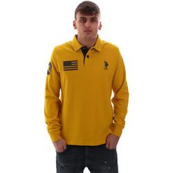 Îmbracaminte Bărbați Tricou Polo manecă lungă U.S Polo Assn. 52416 47773 Galben