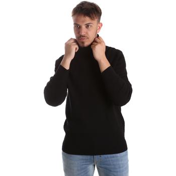 Îmbracaminte Bărbați Pulovere Gaudi 921FU53048 Negru