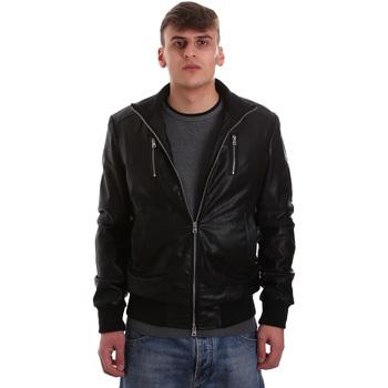 Îmbracaminte Bărbați Jachete din piele și material sintetic Gaudi 921BU38001 Negru