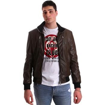 Îmbracaminte Bărbați Jachete din piele și material sintetic Gaudi 921BU38001 Maro