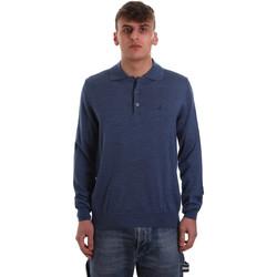 Îmbracaminte Bărbați Tricou Polo manecă lungă Navigare NV11006 40 Albastru