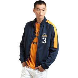 Îmbracaminte Bărbați Bluze îmbrăcăminte sport  La Martina OMF606 FP077 Albastru