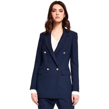 Îmbracaminte Femei Sacouri și Blazere Gaudi 921FD35035 Albastru