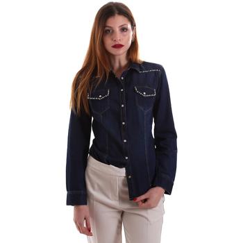 Îmbracaminte Femei Cămăși și Bluze Gaudi 921BD46001 Albastru