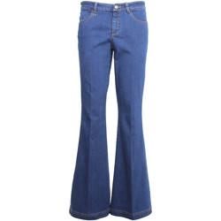 Îmbracaminte Femei Jeans bootcut Nero Giardini A960660D Albastru