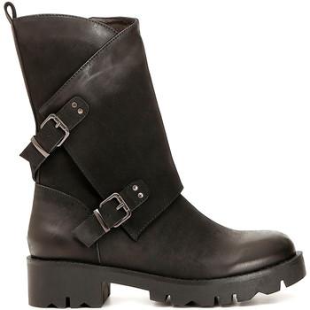 Pantofi Femei Cizme casual Café Noir FE954 Negru