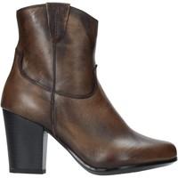 Pantofi Femei Botine The Flexx E8012_02 Maro