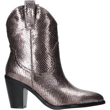 Pantofi Femei Botine Gold&gold B19 GU22 Gri