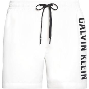 Îmbracaminte Bărbați Maiouri și Shorturi de baie Calvin Klein Jeans KM0KM00452 Alb
