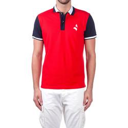 Îmbracaminte Bărbați Tricou Polo mânecă scurtă Navigare NV82115 Roșu