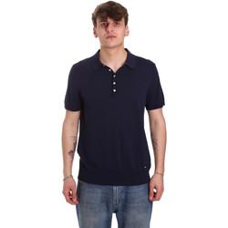 Îmbracaminte Bărbați Tricou Polo mânecă scurtă Gaudi 011BU53011 Albastru