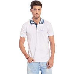 Îmbracaminte Bărbați Tricou Polo mânecă scurtă Gaudi 011BU64044 Alb