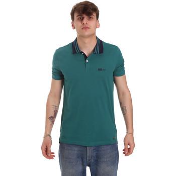 Îmbracaminte Bărbați Tricou Polo mânecă scurtă Gaudi 011BU64044 Verde