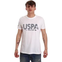 Îmbracaminte Bărbați Tricouri mânecă scurtă U.S Polo Assn. 57197 49351 Alb