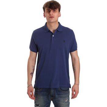 Îmbracaminte Bărbați Tricou Polo mânecă scurtă U.S Polo Assn. 55957 41029 Albastru