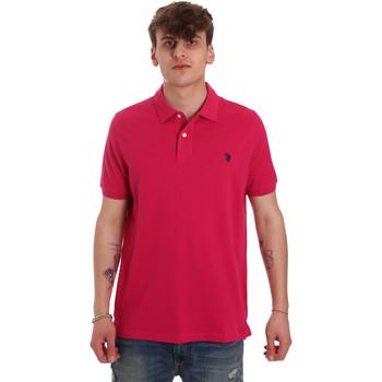 Îmbracaminte Bărbați Tricou Polo mânecă scurtă U.S Polo Assn. 55957 41029 Roz