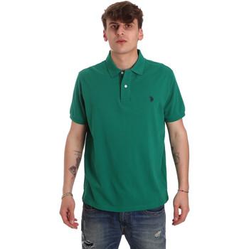 Îmbracaminte Bărbați Tricou Polo mânecă scurtă U.S Polo Assn. 55957 41029 Verde