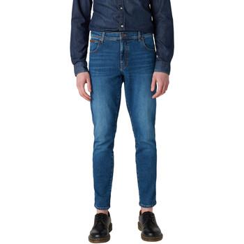 Îmbracaminte Bărbați Jeans slim Wrangler W12ST112E Albastru