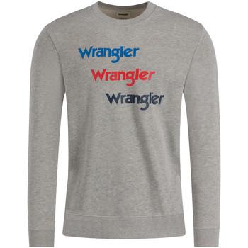 Îmbracaminte Bărbați Hanorace  Wrangler W6A5HAX37 Gri