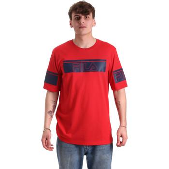 Îmbracaminte Bărbați Tricouri mânecă scurtă Fila 683085 Roșu