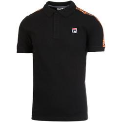 Îmbracaminte Bărbați Tricou Polo mânecă scurtă Fila 687645 Negru