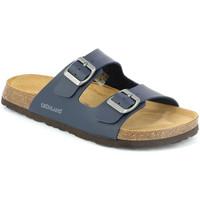 Pantofi Bărbați Papuci de vară Grunland CB3013 Albastru