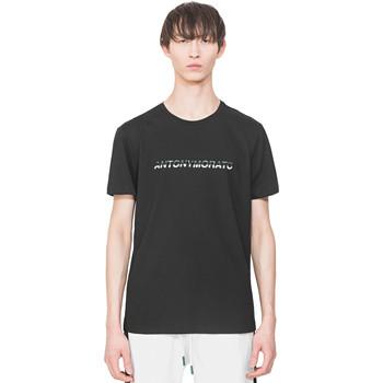 Îmbracaminte Bărbați Tricouri mânecă scurtă Antony Morato MMKS01754 FA100144 Negru